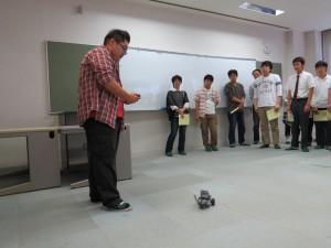 ロボットデモンストレーション