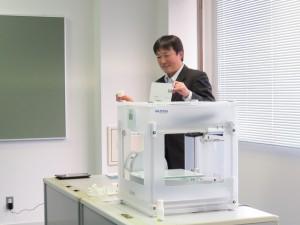 3Dプリンタ実演