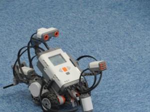 今回使用したLEGOロボット